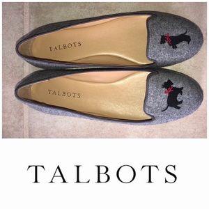 Talbots   Georgina Scottie Dog Ballet Flats (6.5)